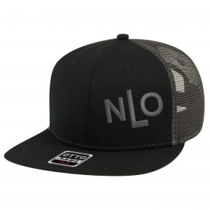 a113c8d54 NLO Camo Dark and Safety Orange Snapback Trucker Hat | Never Let Off